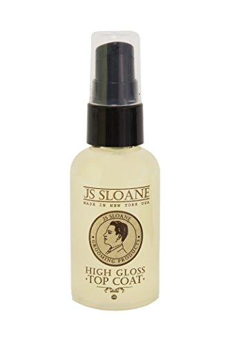 JS Sloane High Gloss Top Coat - Gloss Spray Style High Gel