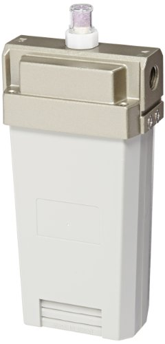 SMC IDG10H-N02 Membrane Air Dryer, 1/4'' NPT, Outlet Air Flow 100 L/min; Purge Air Flow 25 L/min, -15 degrees Celsius Dew Point by SMC Corporation