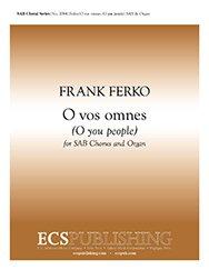 - O vos omnes(O you people) - Organ Sheet Music