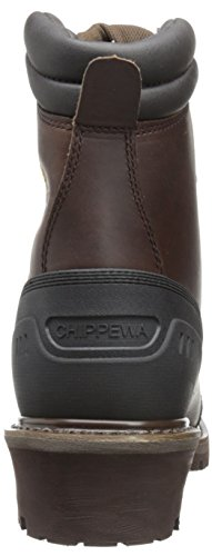 Chippewa Mens 8 Inch Chocolate Oiled Waterproof Logger Boot Brown ghxPFt