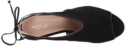 Rachel Zoe Women's Stephanie Peep Open Toe Heels Black (Black) dXnS9