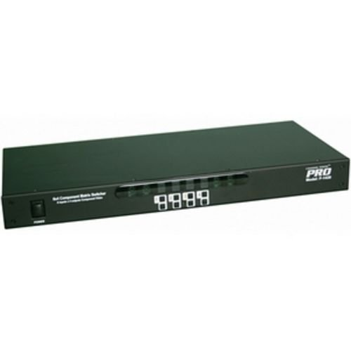 Channel Vision 6x4 HDTV Component A/V Matrix Switcher