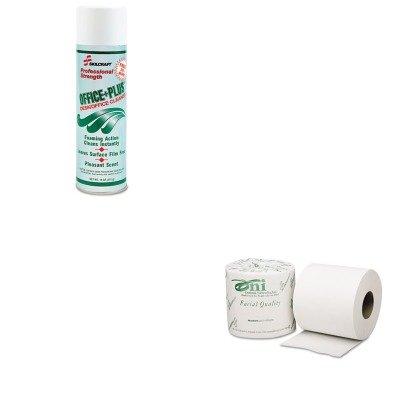 KITNSN5128969NSN5303770 - Value Kit - NIB - NISH 8540005303770 Toilet Tissue (NSN5303770) and NIB - NISH 7930015128969 Office Plus Desk amp;amp; Office Cleaner (NSN5128969)