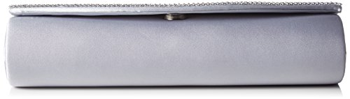 Berydale and Silber Chain Satin Additional Silver Rhinestones Women's with Clutch qqpCZ