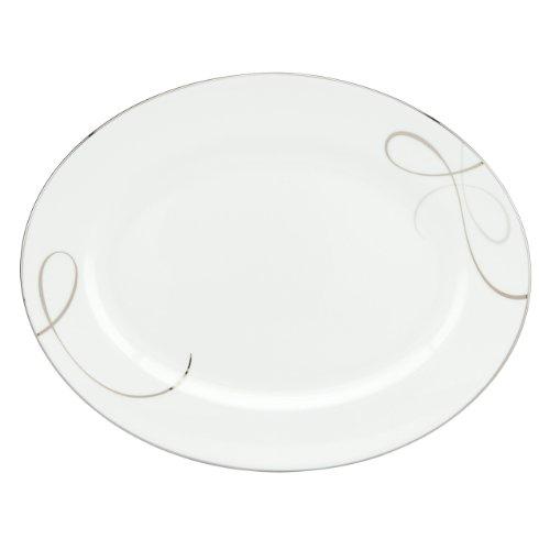 Lenox Adorn Oval Platter (Oval Platter Platinum Classic)