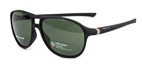 - TAG Heuer 27 Degree Urban Sunglasses Black Silver Polarized Lens 6043 301