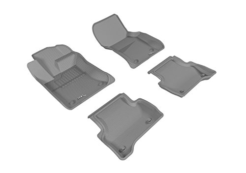 Custom Fit Car Mat 4PC 0605112 Gray PantsSaver