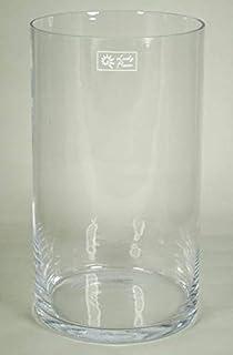 Windlicht JONAS Zylinder klar 30cm Moderne Vase // Große Deko Vase Ø19,5cm