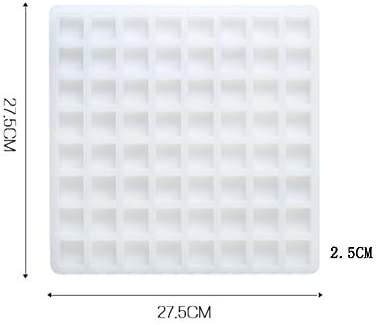 40 Grid Eco-friendly Food Grade Cavity Silicone Ice Cube Tray Square Mold Mould