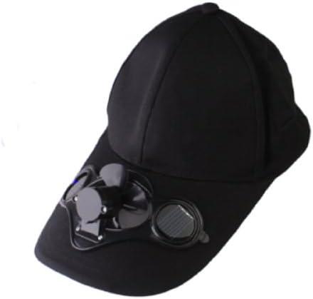 Gorra con ventilador - sombrero para el sol con mini energía Solar ...