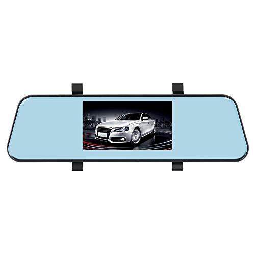 Cleansed L403 HD 1080p Car DVR Camera 4.3 inch Rearview Mirror Dual Lens Dash Cam