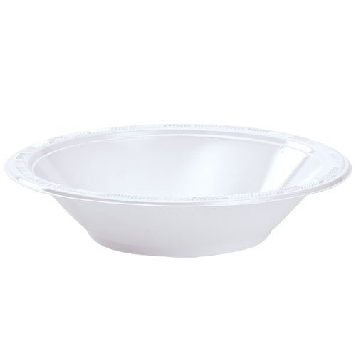 (Party Dimensions 100 Count Plastic Bowl, 12-Ounce, White, Club Pack)