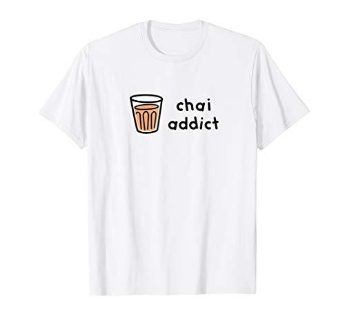 Chai Addict Men Women Youth T-Shirt Light Colors
