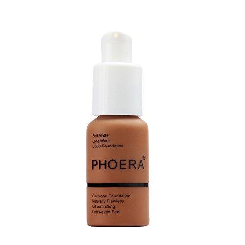 Oksale New 30ml PHOERA Matte Oil Control Concealer Foundation Cream Liquid Foundation (#109)