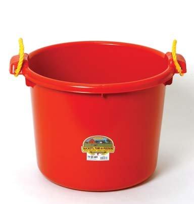 70 Quart Muck Bucket - 8