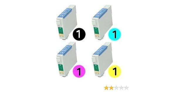 T1285 Multipack 4 cartuchos de tinta compatibles para Epson Stylus ...