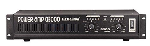 GTD Audio 2 Channel 3000 Watts 2U Stereo Professional Power Amplifier AMP