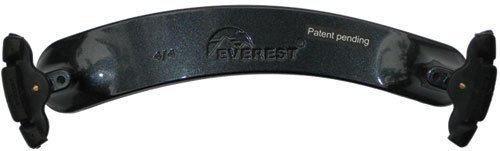 Everest ES Spring Collection Violin Shoulder Rest - 4/4 size - Charcoal - Collection Es Usa