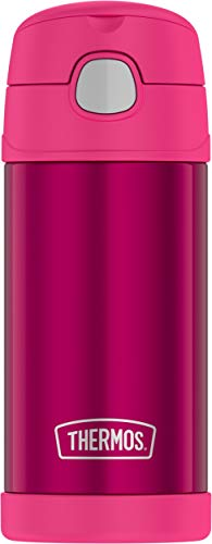 Thermos Funtainer 12 Ounce Bottle, Pink (Thermos Insulated Cup)
