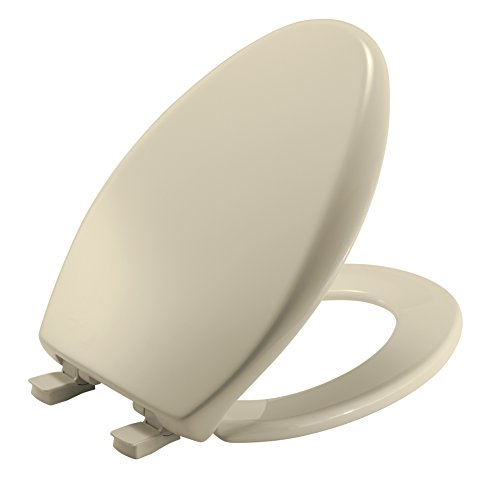 Mayfair Slow-Close Plastic Toilet Seat featuring Easy Clean