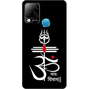 Amagav Soft Silicone Printed Mobile Back Cover for Infinix Hot 10S -Design61
