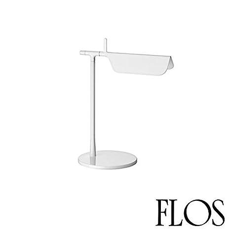 FLOS Tab T Led Lámpara Mesa Blanca f6560009 diseño Edward ...