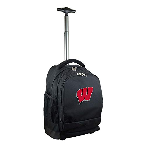 NCAA Wisconsin Badgers Expedition Wheeled Backpack, 19-inches, ()