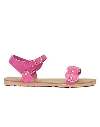 Yepme - Sandalias de vestir de Material Sintético para mujer rosa rosa