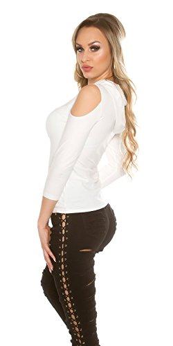 In-Stylefashion - Sudadera - para mujer Weiß
