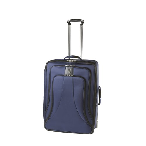 [Travelpro Luggage WalkAbout LITE 4 26-Inch Expandable Rollaboard Suiter, Blue, One Size] (26
