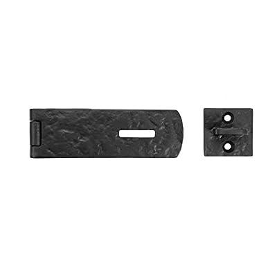 "Iron Valley - 4-3/4"" Locking Hasp - Solid Cast Iron"