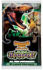 Game 4 Booster Pack (Dinosaur King Trading Card Game Series 4 Black Dinosaur Rampage Booster Pack)