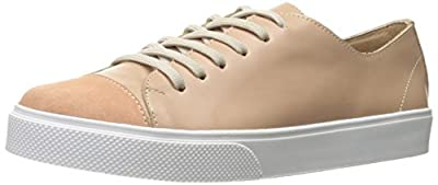 KAANAS Women's Salinas Leather Lace-Up Fashion Sneaker