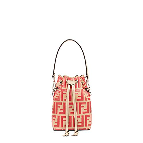 Red Bag Fendi (kimi-Fendi small Mon Tresor Leather fashion Shoulder Bag for women in new (red))