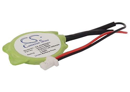 VINTRONS Replacement CMOS Battery for Panasonic Toughbook CF-T5, Toughbook CF-T8, (200mAh / 0.6Wh), (Aspire Cf Battery)
