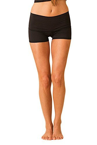 Teeki Solid Black Sun Shorts (LG)