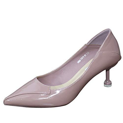 En 37 Verni Sauvages Chaussures Souple À Talons Pointes Pour Cuir Zzdsh Hauts 38 Femmes Ressort Iq4wgnH