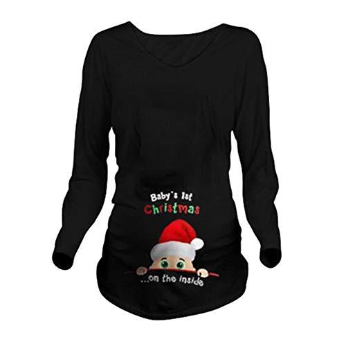 Stile 6 nero T kim Premaman Divertente Q Maglietta shirt Donna RfqT0
