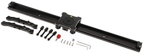 B Baosity 600 * 50ミリメートルアルミ合金カメラスライダトラック安定剤DSLRビデオカメラ用