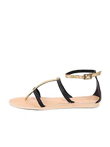 Sandalen Zwart Van Cocobelle Dames Tanzania Sandaal