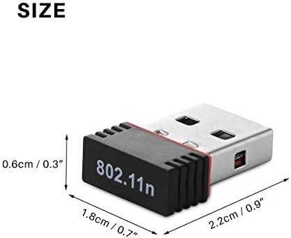 USB Wireless LAN Drive -Mini USB Drive Wireless LAN Adapter 802.11 n / g / b Wireless Network Card 150Mbps Compatible with Windows 2000/XP/Vista/WIN7/8/Linux/Mac OS X