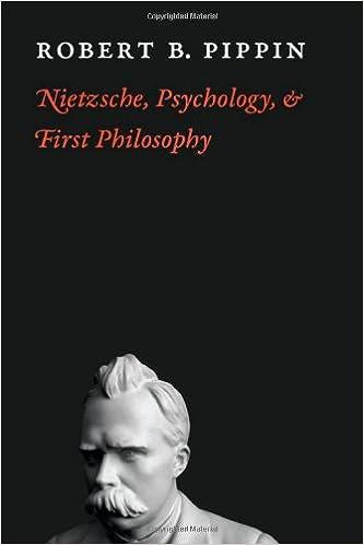 Book Nietzsche, Psychology, and First Philosophy