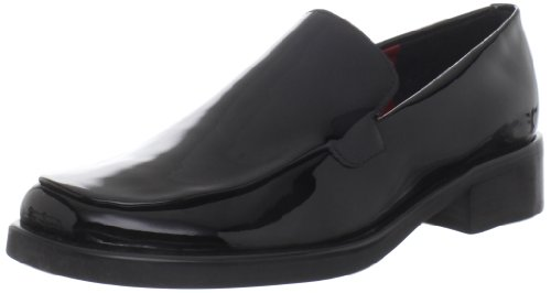 Franco Sarto Women's Bocca Loafer,Black Patent, 9 M ()