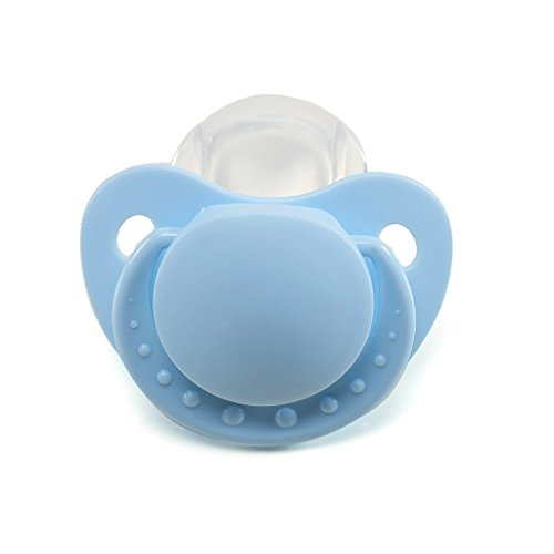 LittleForBig Adult Baby Pacifier Dummy for ADULT BABY ABDL Blue