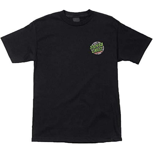 Santa Cruz Men's TMNT Ninja Turtles Shirts,Medium,Black