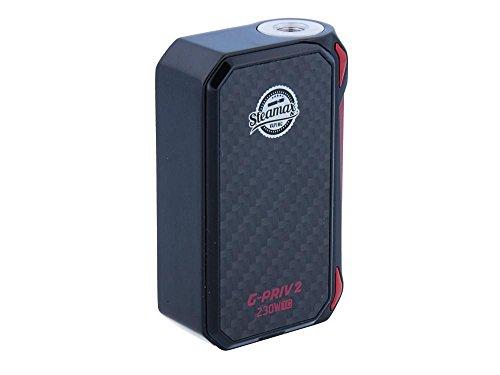 Steamax G-Priv 2 Akkuträger 230 Watt – Farbe: schwarz-rot