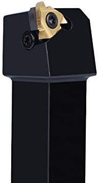 GENERICS LSB-Werkzeuge, Außengewindedrehwerkzeuge Mähbalken SER1212H16 Drehmeißel Hartmetalleinsätze CNC-Halter Werkzeug SER2020K16 (Farbe : SER2020K16)