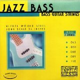 Thomastik-Infeld Bass Guitar Strings: Jazz Round Wound 5-String Long Scale Set; Pure Nickel Rounds G, D, A, E, B Set