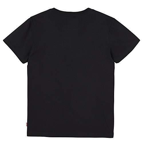 Levi's 02 Noir black Shirt Garçon T Kids 4nYpOqr4