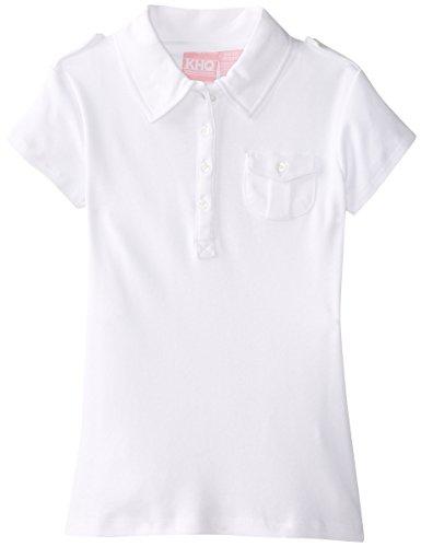 KHQ Girls Short Sleeve Interlock